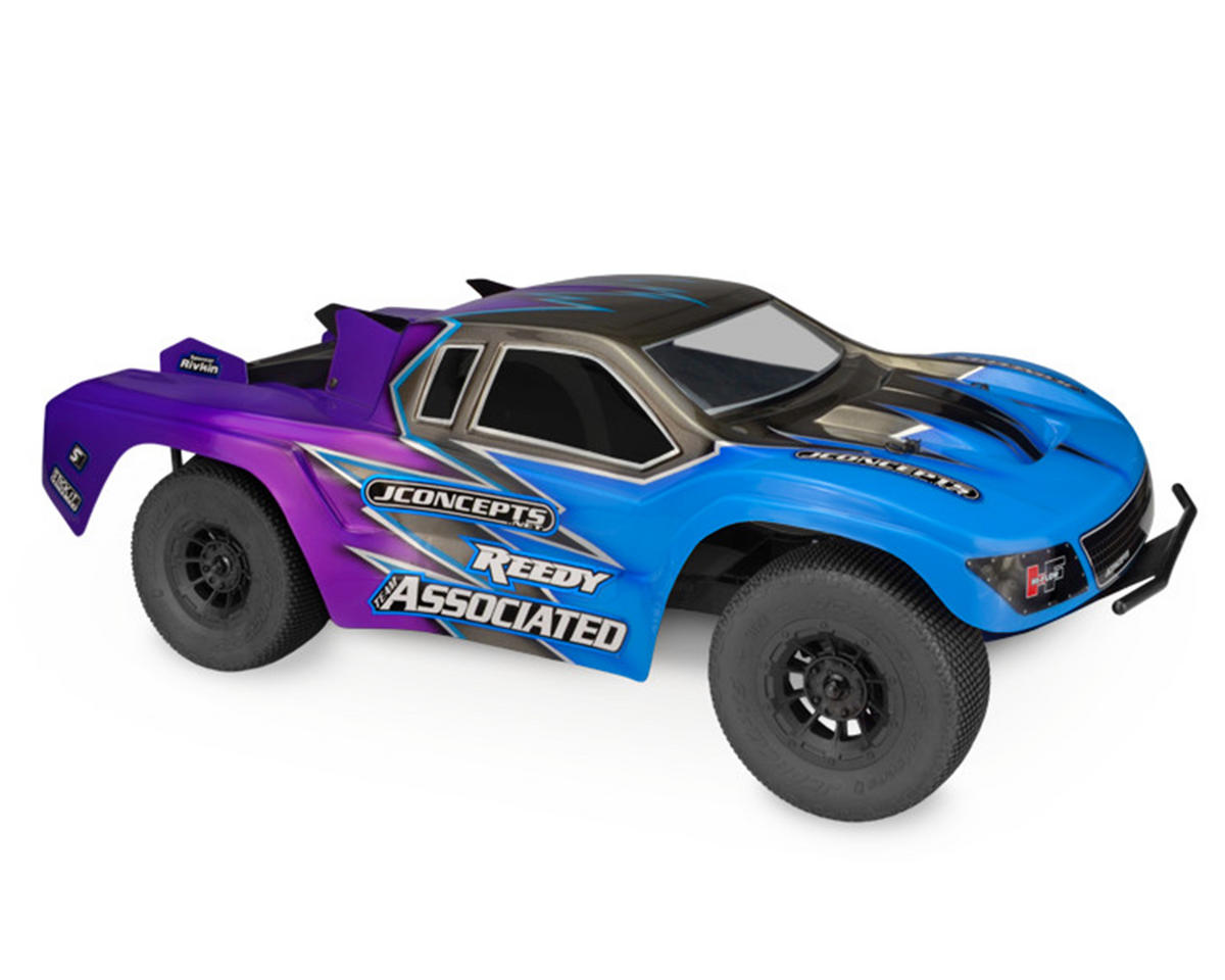 "JConcepts ""HF2 SCT"" Low-Profile Short Course Truck Body (Clear) (Light Weight)"
