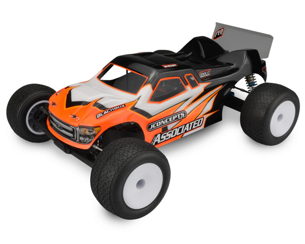 "JConcepts T5M ""Finnisher"" Body w/Spoiler (Clear)"