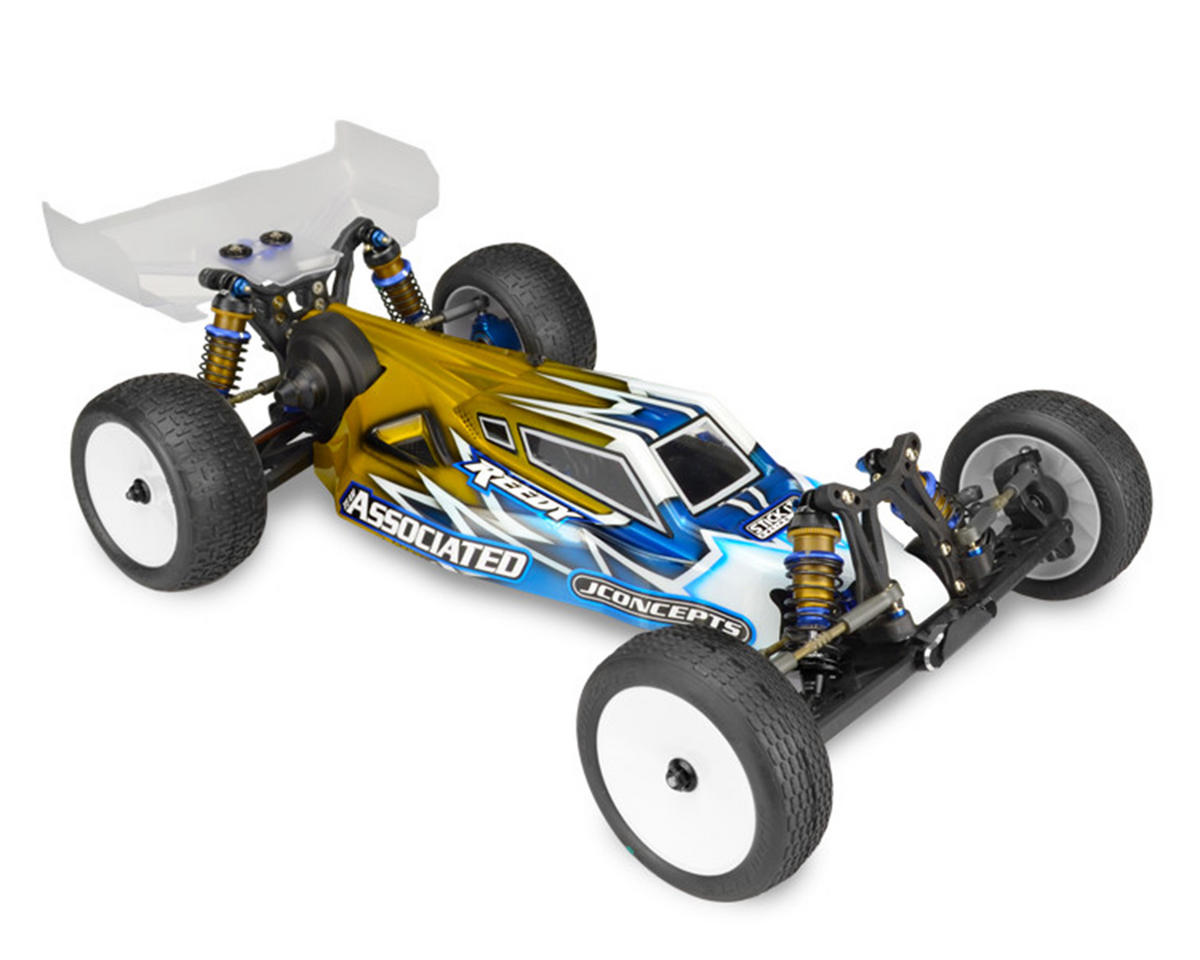 "B5M ""S2"" Body W/6.5"" Finnisher Wing (Clear) (Light Weight) by JConcepts"