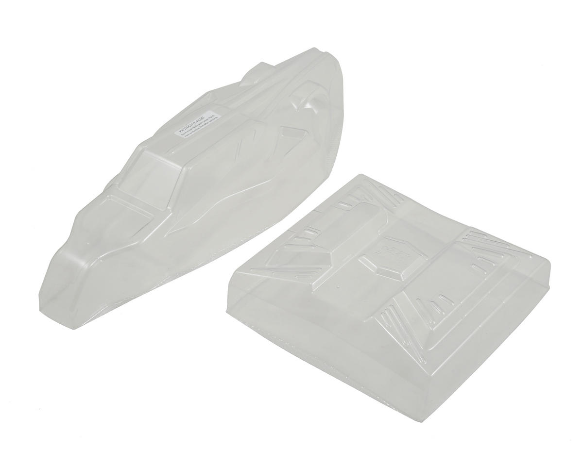 "B5M ""S2 Worlds"" Body w/6.5"" Finnisher Wing (Clear) by JConcepts"