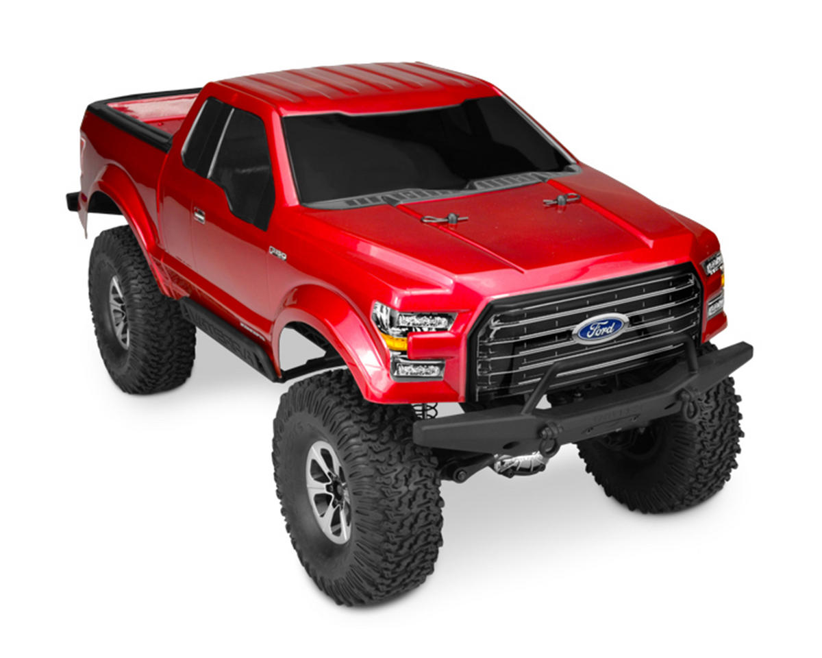 JConcepts 2016 Ford F-150 Scale Crawler Body (Clear)