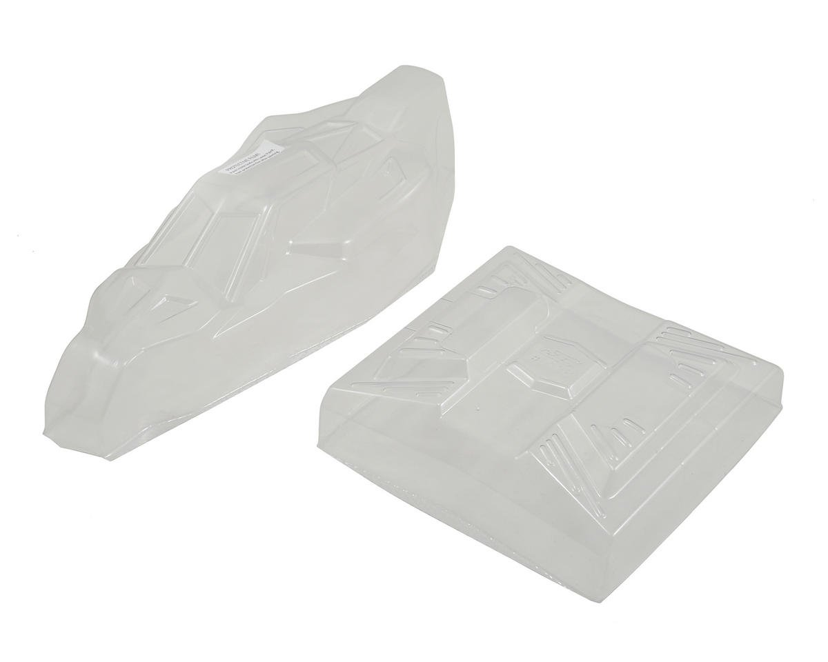 "B5M ""Warrior"" Body w/6.5"" Finnisher Wing (Clear) by JConcepts"