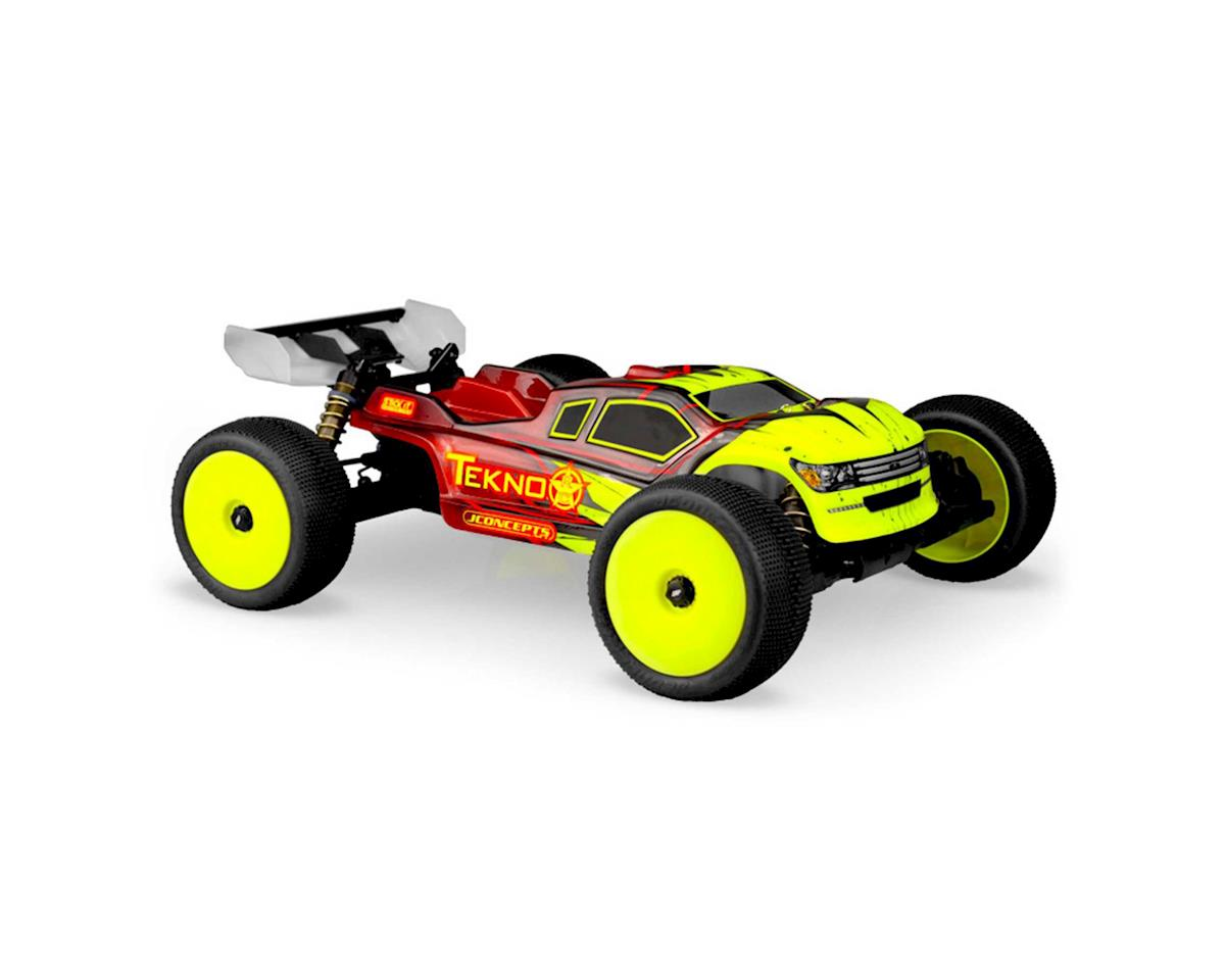 """JConcepts Tekno NT48.3 """"Finnisher"""" 1/8 Truggy Body (Clear)"""