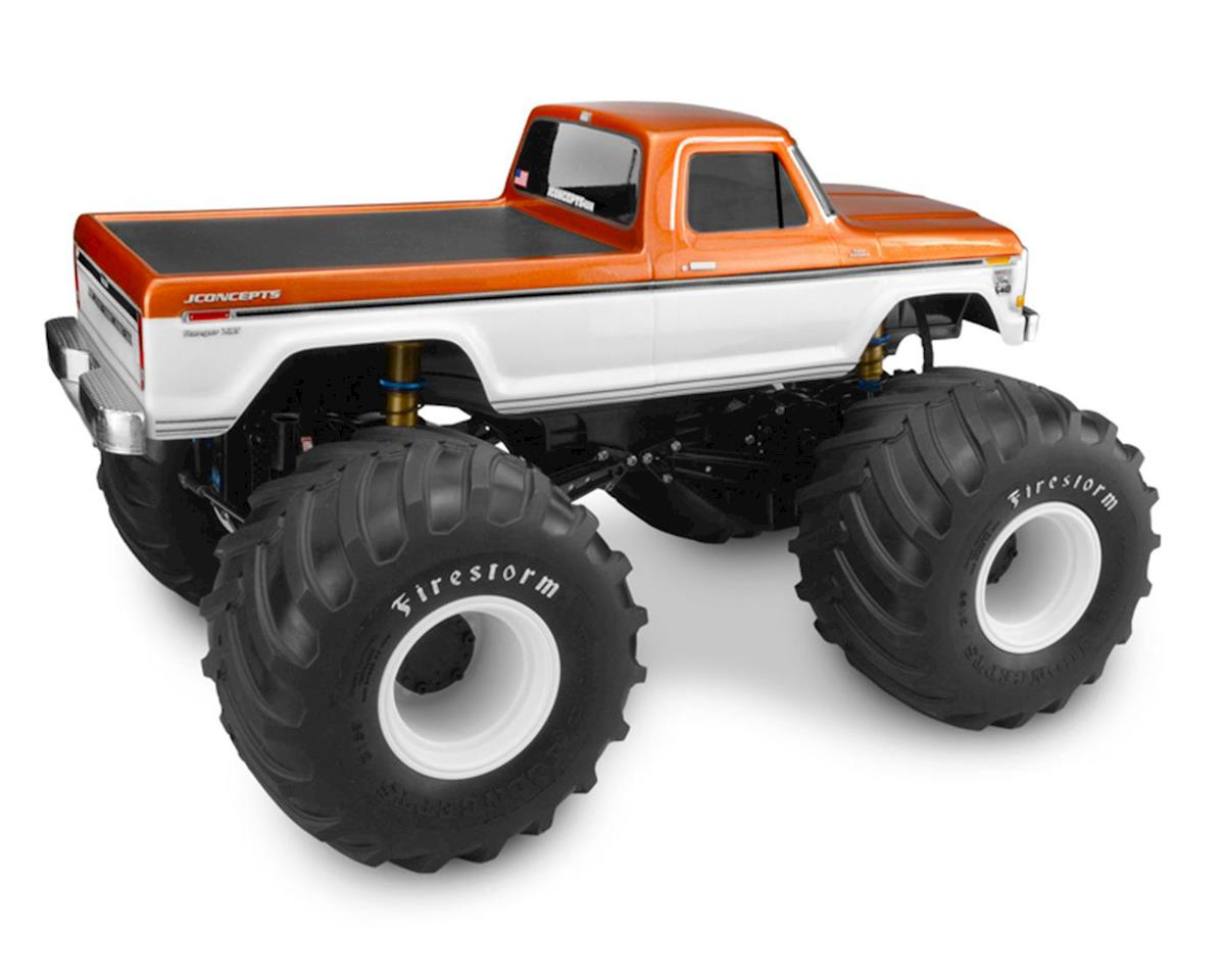 JConcepts 1979 Ford F-250 Monster Truck Body w/Bumpers (Clear)