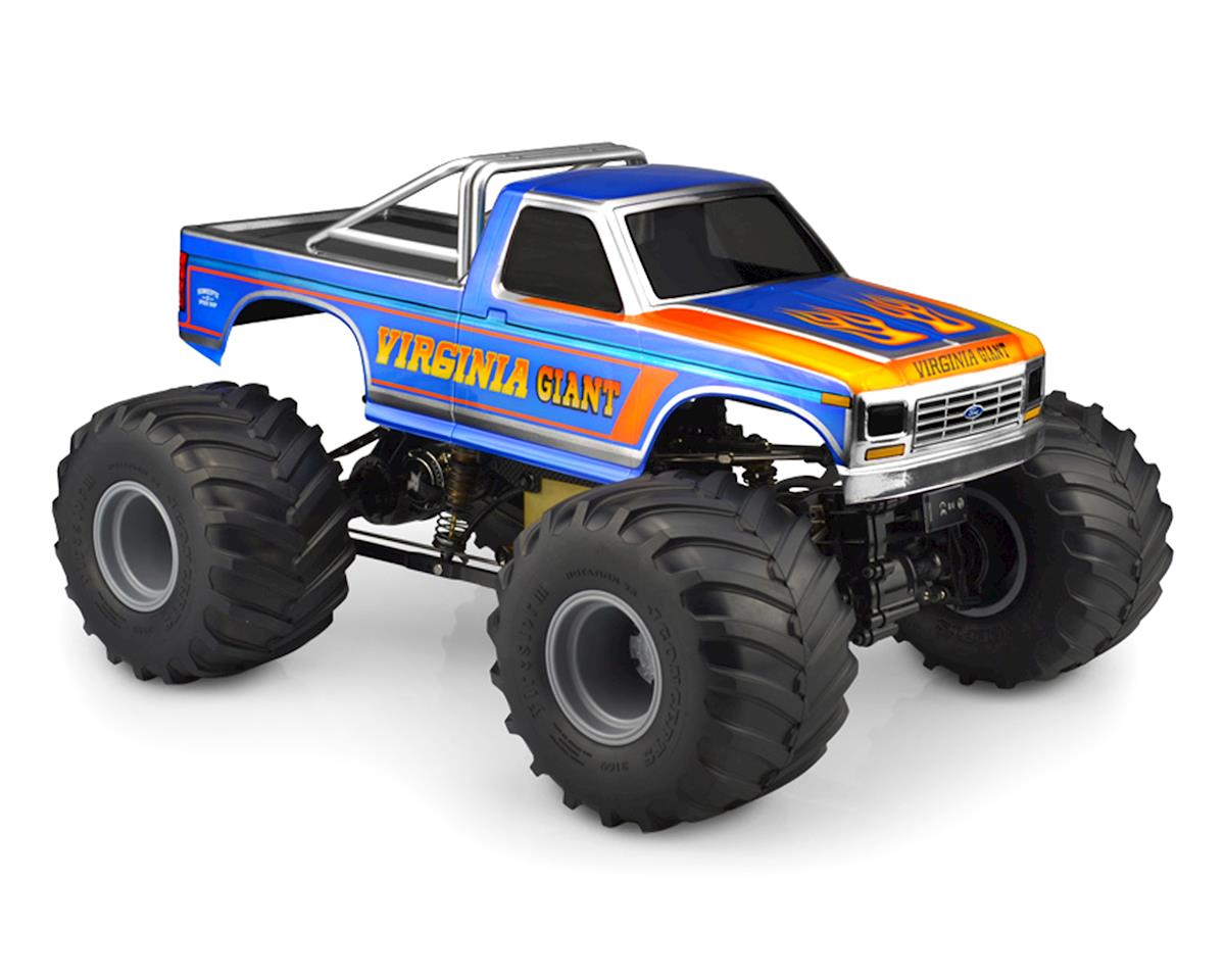 JConcepts 1984 Ford F-250 Monster Truck Body (Clear)