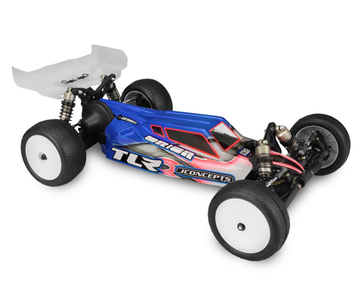 "JConcepts TLR 3.0 ""S2"" Body w/6.5"" Finnisher Wing (Clear)"