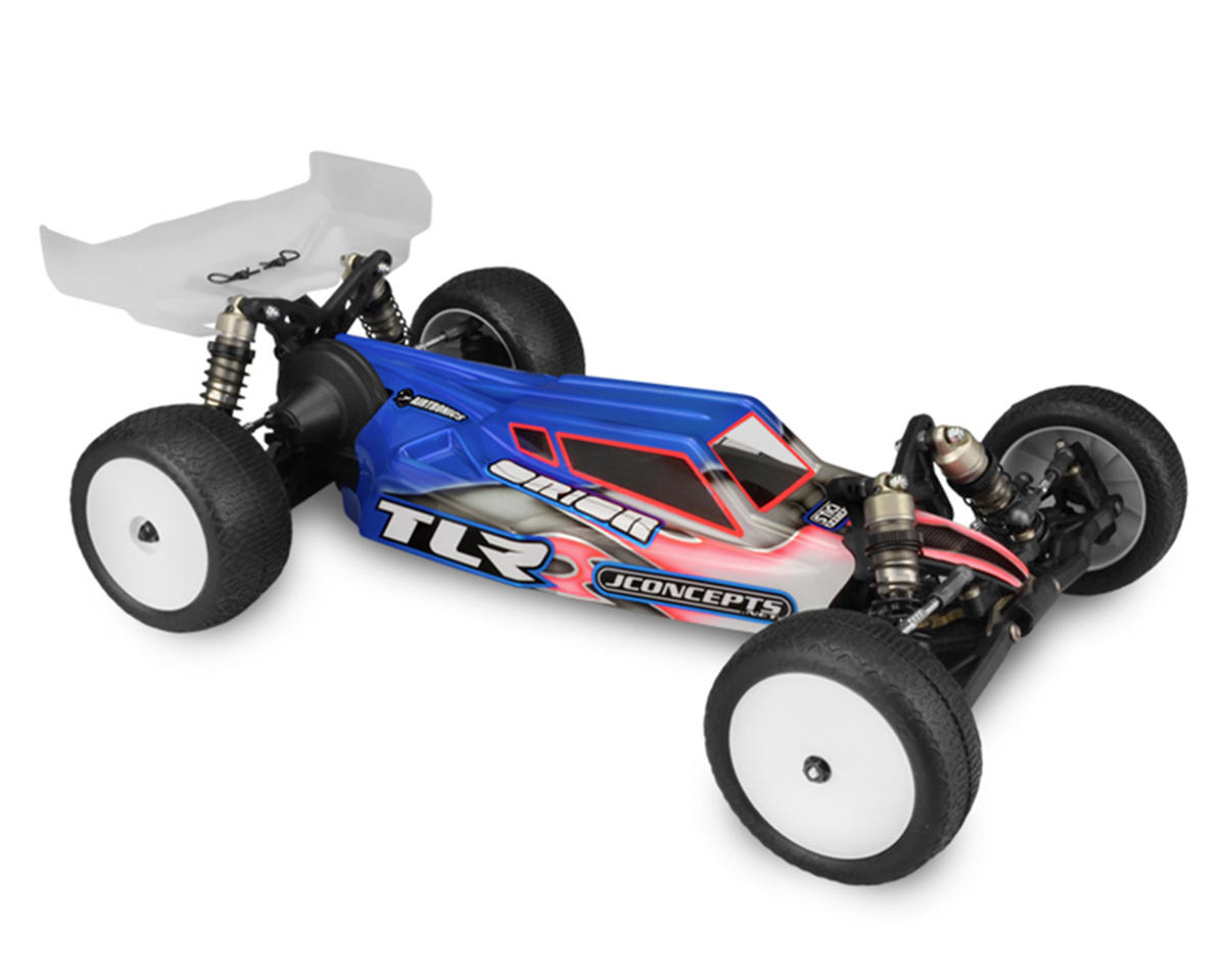 "JConcepts TLR 3.0 ""S2"" Body W/6.5"" Finnisher Wing (Clear) (Light Weight)"