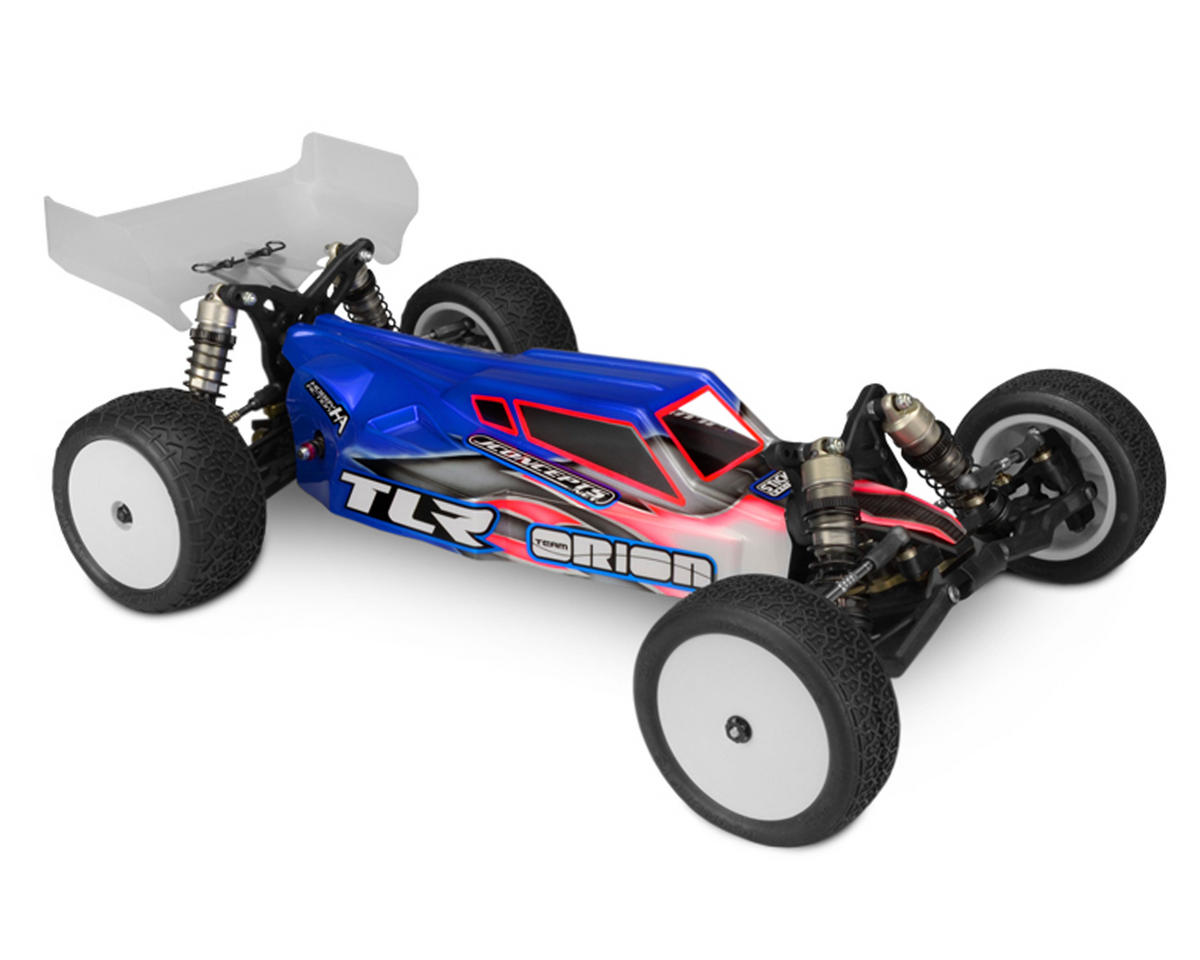 "TLR 3.0 ""S2"" Worlds Body W/6.5"" Finnisher Wing (Clear) (Light Weight) by JConcepts"