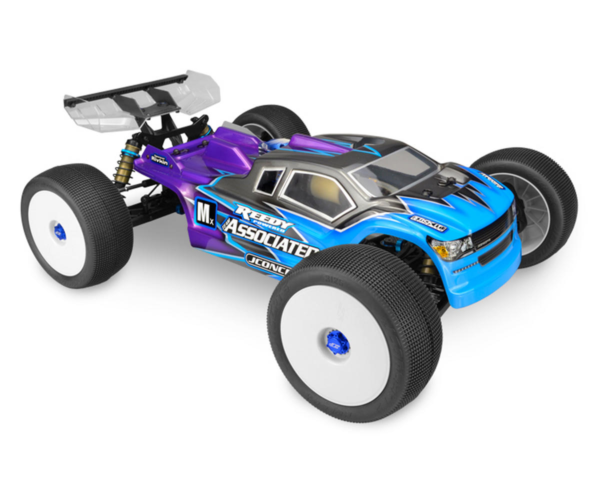"""RC8T3/RC8T3e """"Finnisher"""" Illuzion Truggy Body (Clear) by JConcepts"""