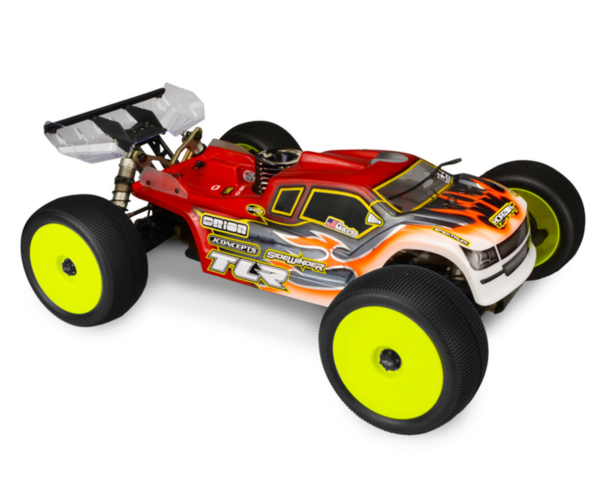 "JConcepts TLR 8IGHT-T 4.0 ""Finnisher"" Body (Clear)"