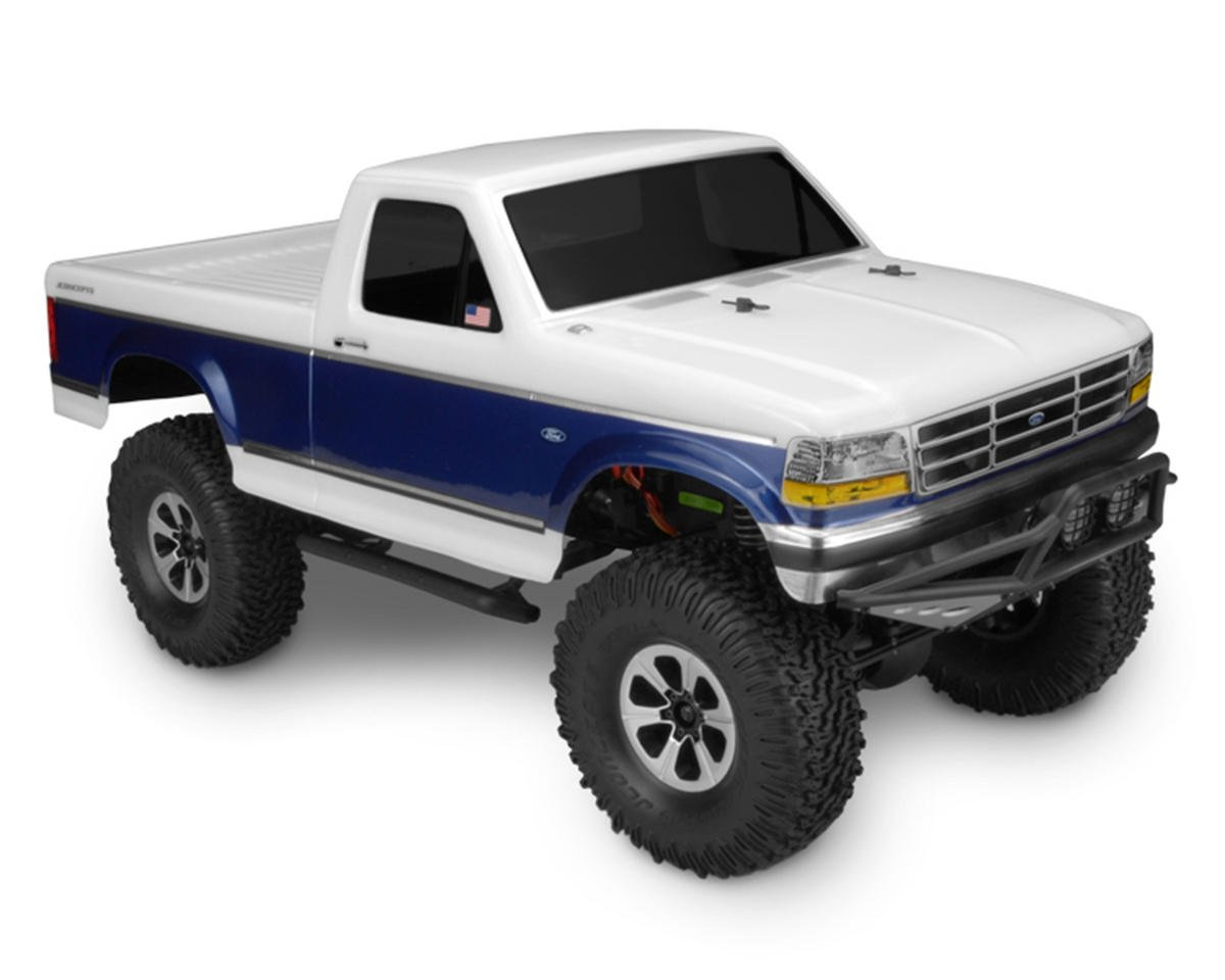1993 Ford F-250 Trail/Scale Body (Clear) by JConcepts