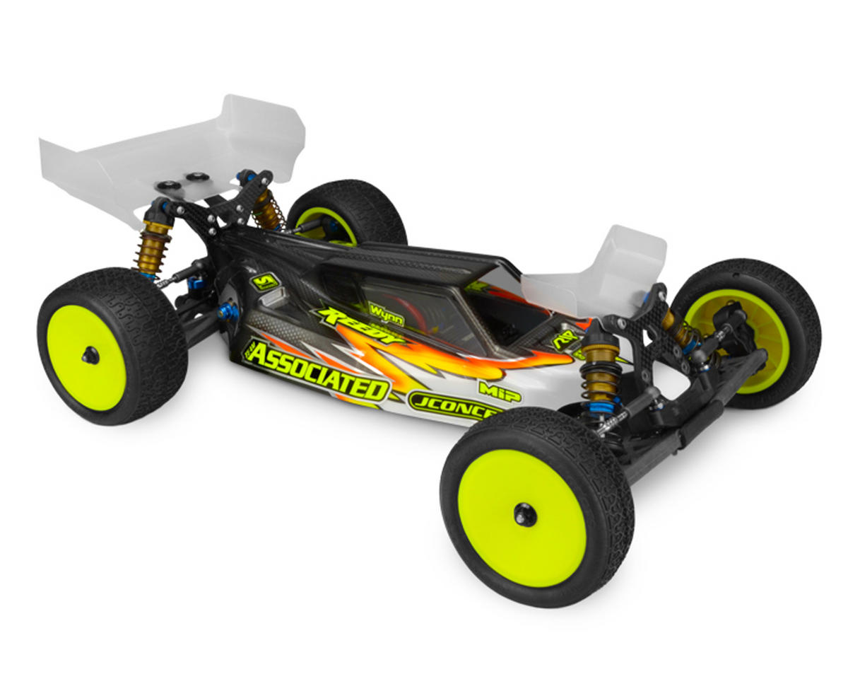 "JConcepts B6/B6D ""S2"" Body w/6.5"" Aero Wing (Clear) (Light Weight)"