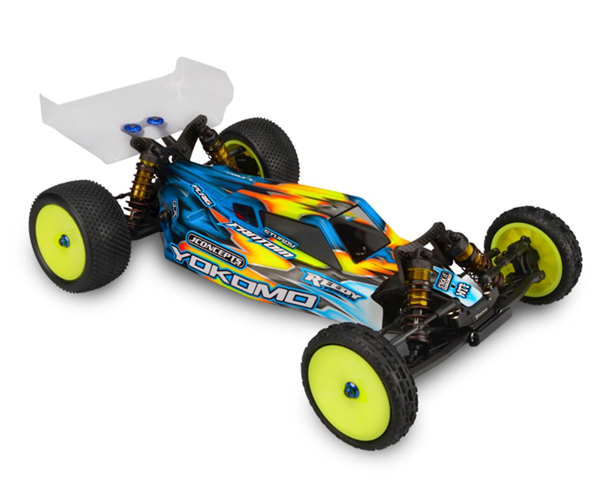 "JConcepts YZ-2 ""S2"" Buggy Body w/6.5"" Aero Wing (Clear)"