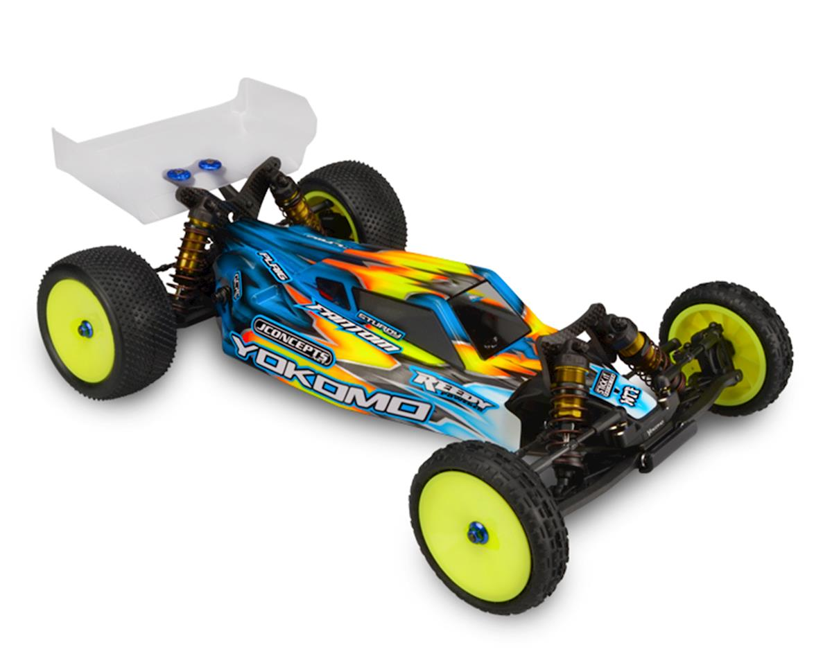"JConcepts YZ-2 ""S2"" Buggy Body w/6.5"" Aero Wing (Clear) (Light Weight)"