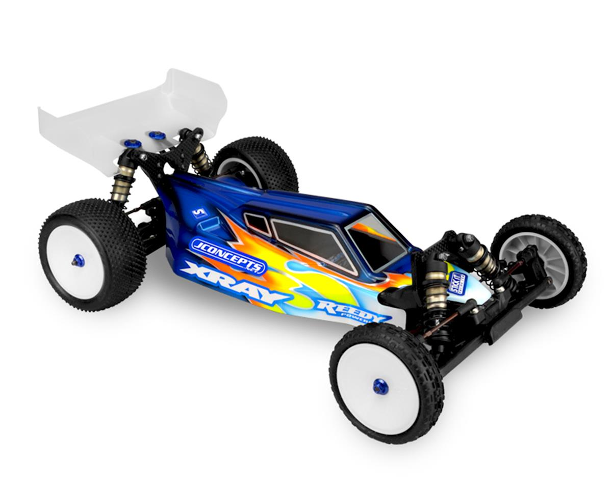 "JConcepts XRAY XB2 ""S2"" Body w/6.5"" Aero Wing (Clear) (Light Weight)"