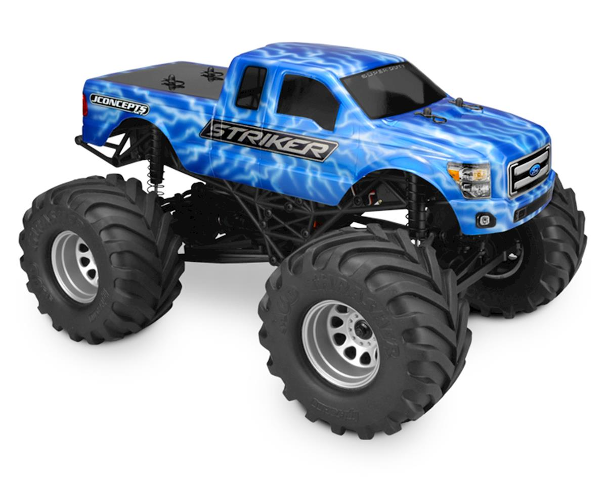 JConcepts 2011 Ford F-250 Super Duty Super Cab Mini Monster Truck Body (Clear)