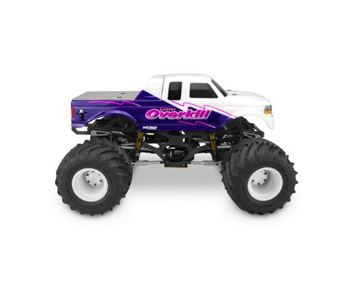 JConcepts 1993 Ford F-250 Super Cab Monster Truck Body w/Racerback 1 (Clear)