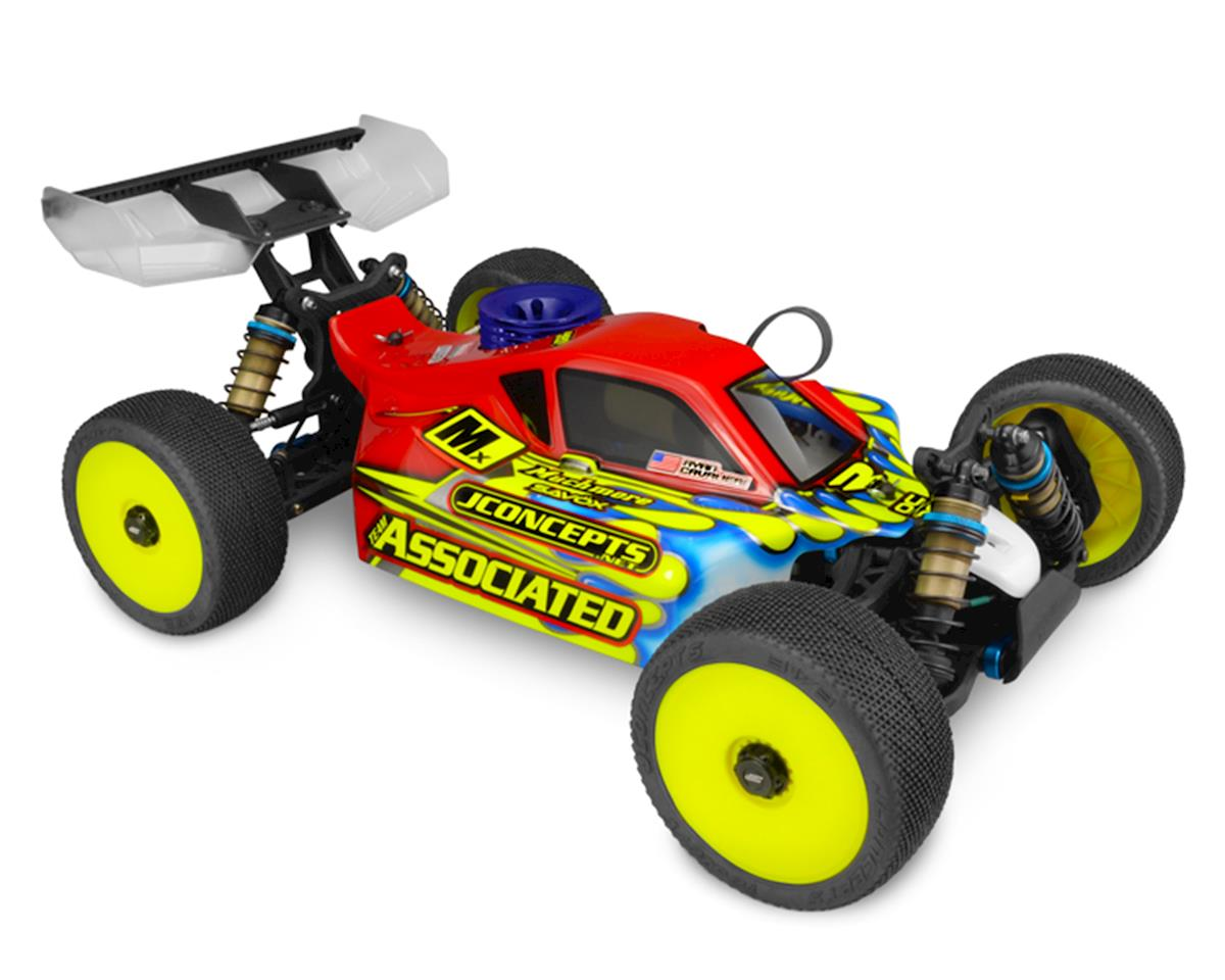 "JConcepts Associated RC8B3/B3.1 ""Strike 3"" Worlds 1/8 Buggy Body (Clear)"