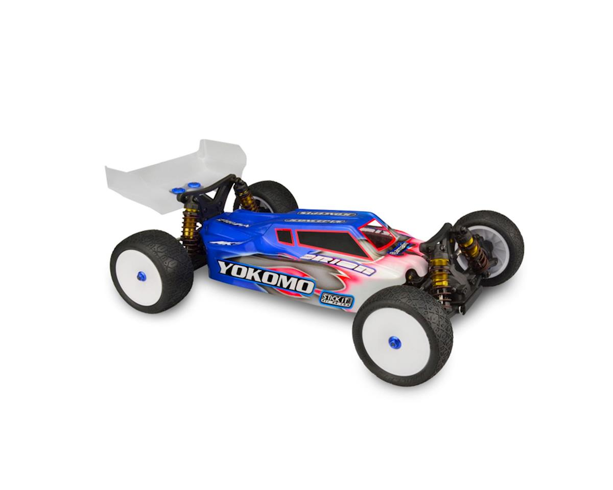 "YZ-4 ""F2"" 4WD Buggy Body w/6.5"" Aero Wing (Clear) by JConcepts"