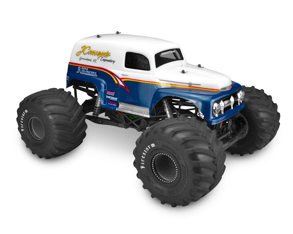 "1951 Ford ""Grandma"" Panel Truck Body (Clear) by JConcepts"