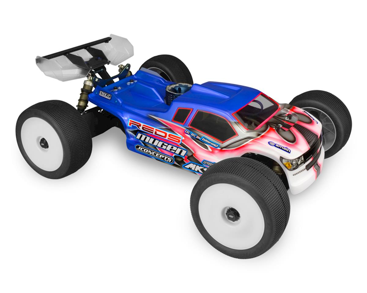 "JConcepts Mugen MBX7TR ""Finnisher"" Body (Clear)"