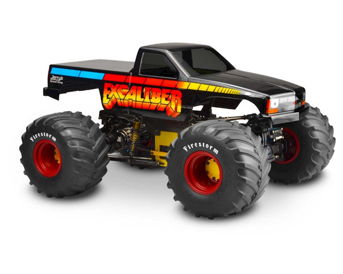 "1988 Chevy Silverado ""Snoop Nose"" Monster Truck Body (Clear) by JConcepts"