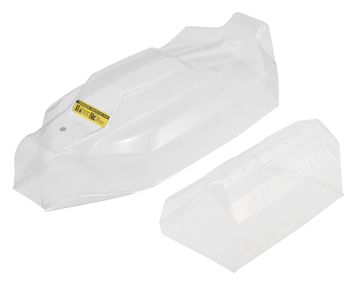 "JConcepts YZ-4 SF ""S1"" 4WD Buggy Body w/6.5"" Aero Wing (Clear)"