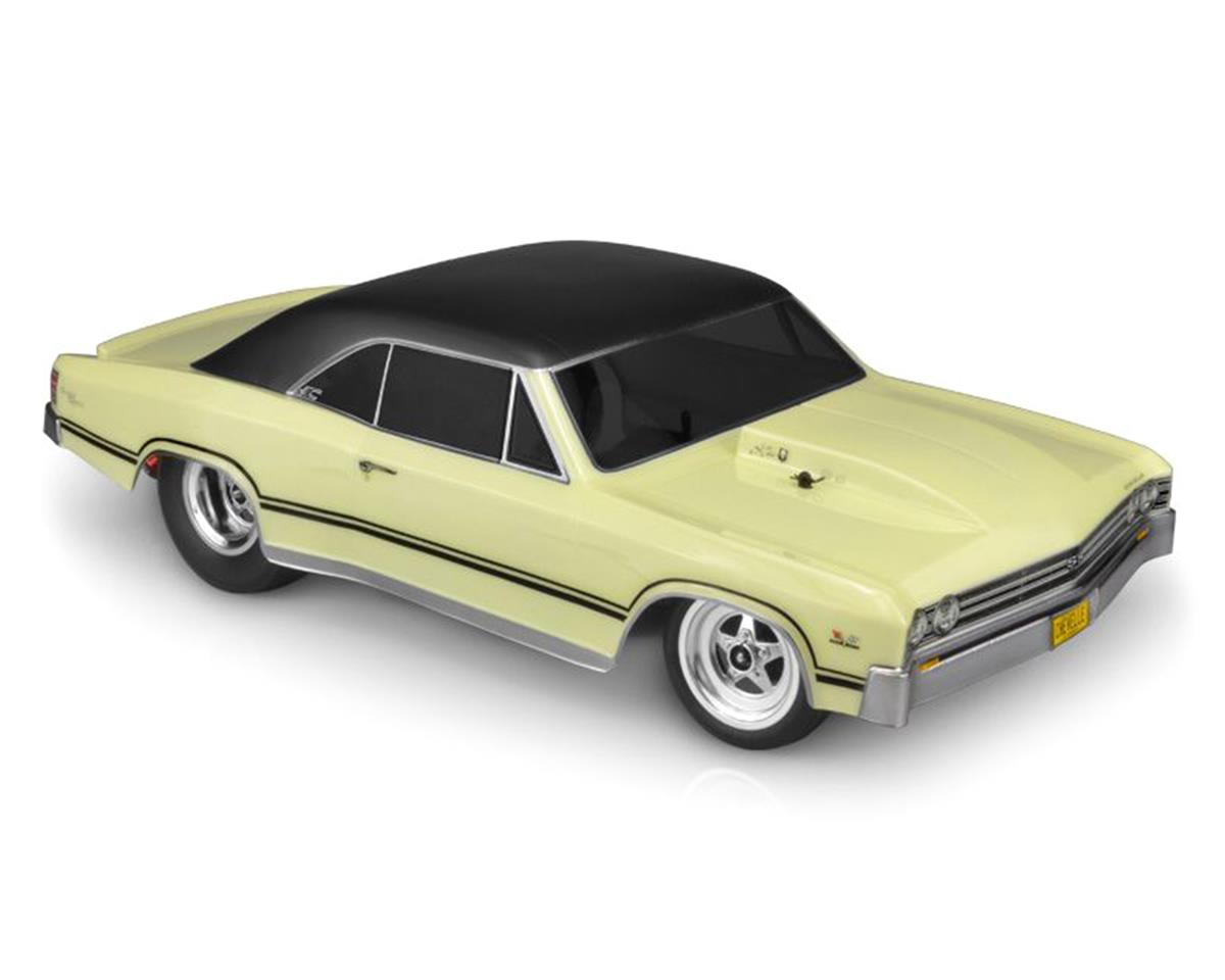 JConcepts 1967 Chevy Chevelle Street Eliminator Drag Racing Body (Clear)