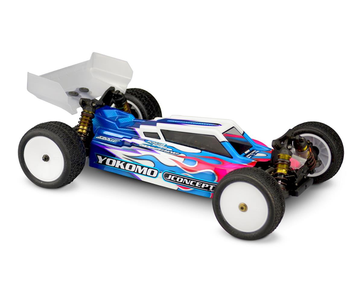 """JConcepts YZ-4 """"F2"""" 4WD Buggy Body w/6.5"""" Aero S-Type Wing (Clear)"""