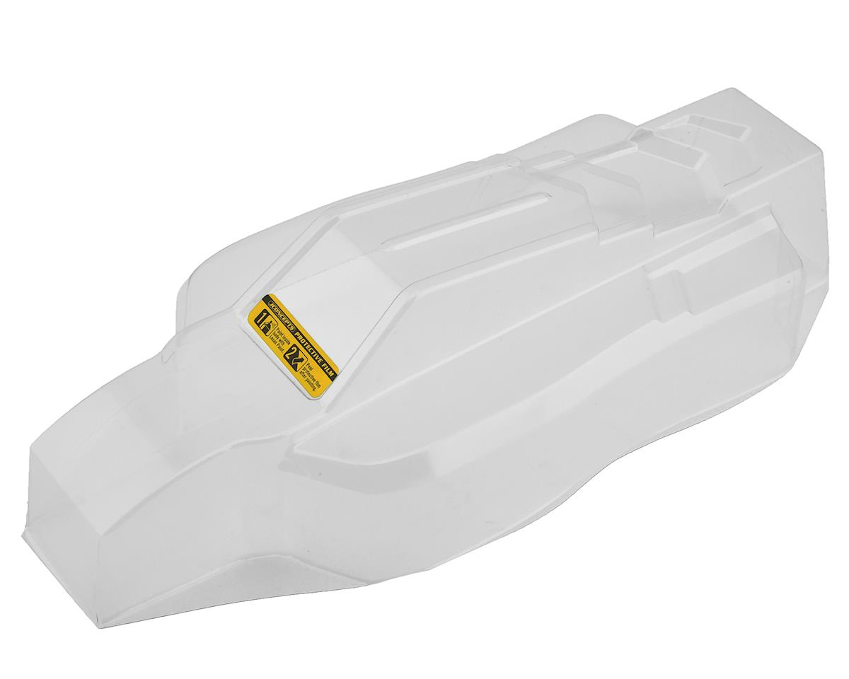 """JConcepts HB D418 """"F2"""" 1/10 Buggy Body w/6.5"""" Aero Wing (Clear)"""