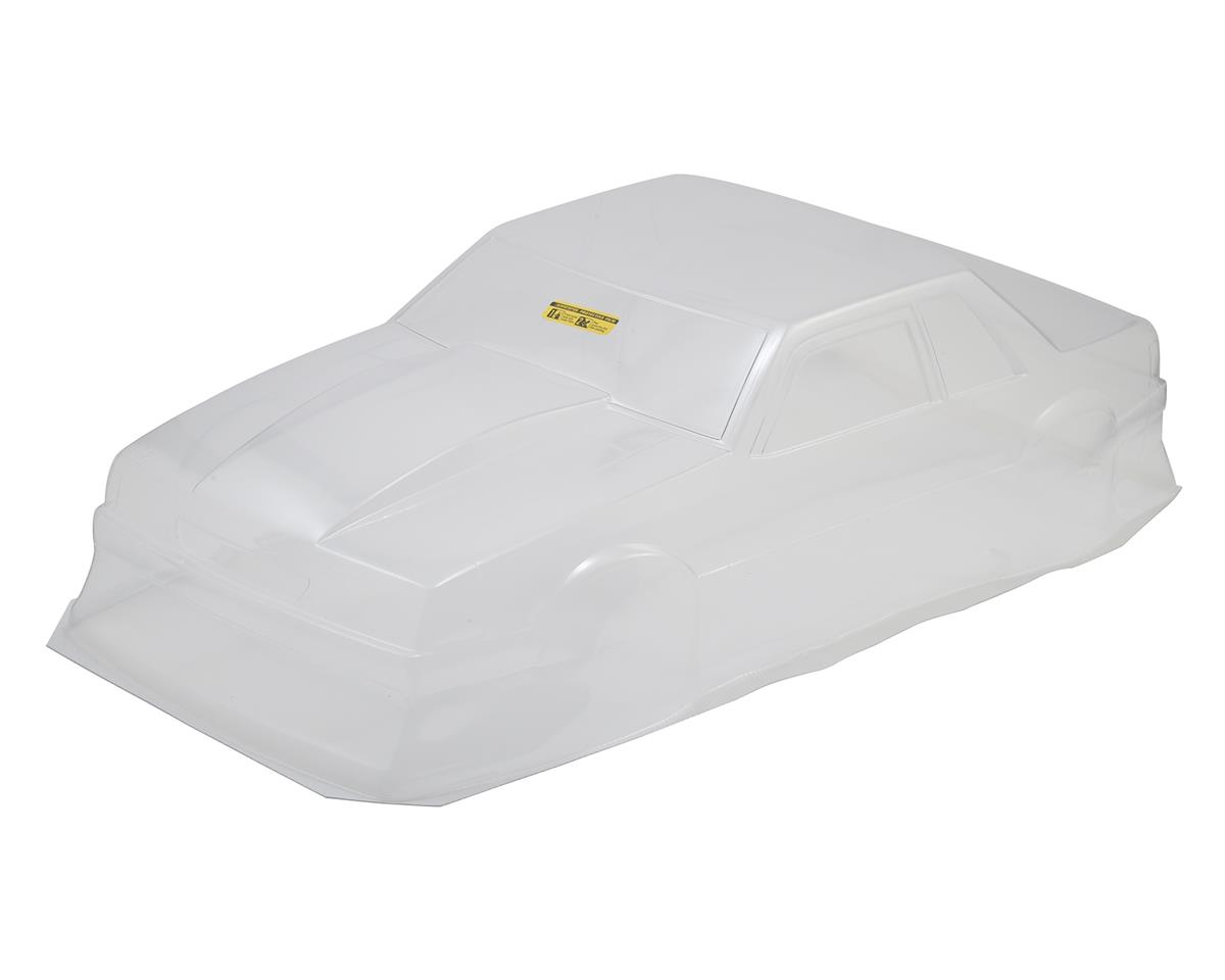 Image 2 for JConcepts 1991 Ford Mustang Fox Body Street Eliminator Drag Racing Body (Clear)