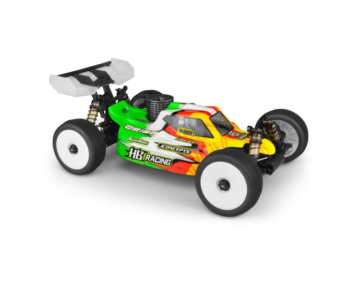 JConcepts HB Racing D819/D817 V2 S15 1/8 Nitro Buggy Body (Clear)