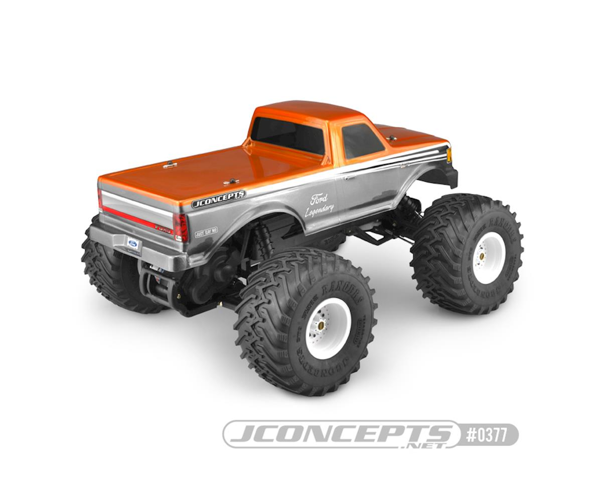 JConcepts Traxxas Stampede 1989 Ford F-250 Body w/Racerback (Clear)