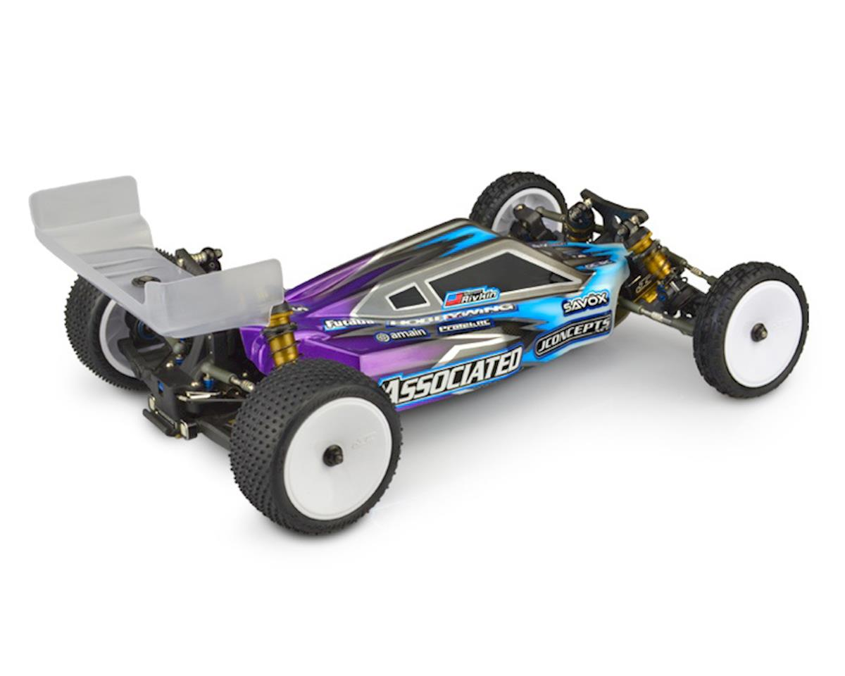 "JConcepts B6.1/B6 ""P2K"" 1/10 2WD Buggy Body w/6.5"" Aero Wing (Clear)"