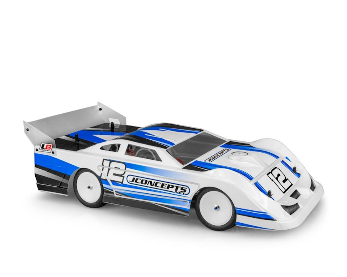 "JConcepts ""L8 Night"" 10.25"" Latemodel Body (Clear)"