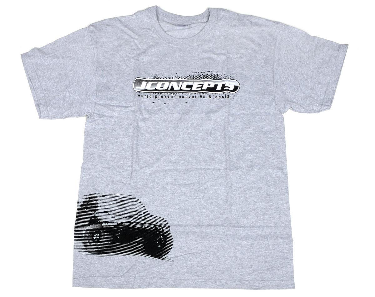 JConcepts Gray Summer SCT 2011 T-Shirt (Medium)