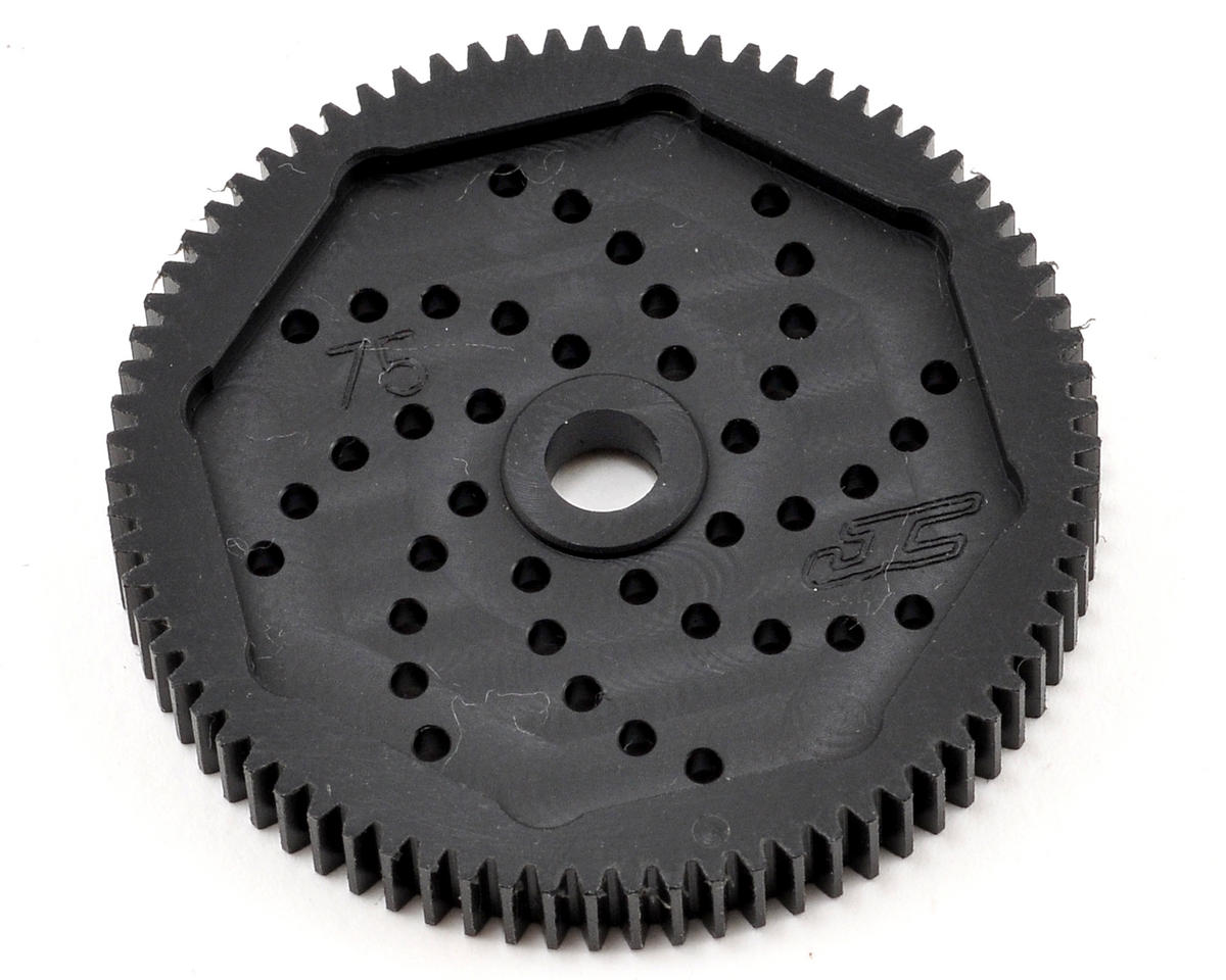 "JConcepts 48P Associated ""Silent Speed"" Machined Spur Gear (75T)"