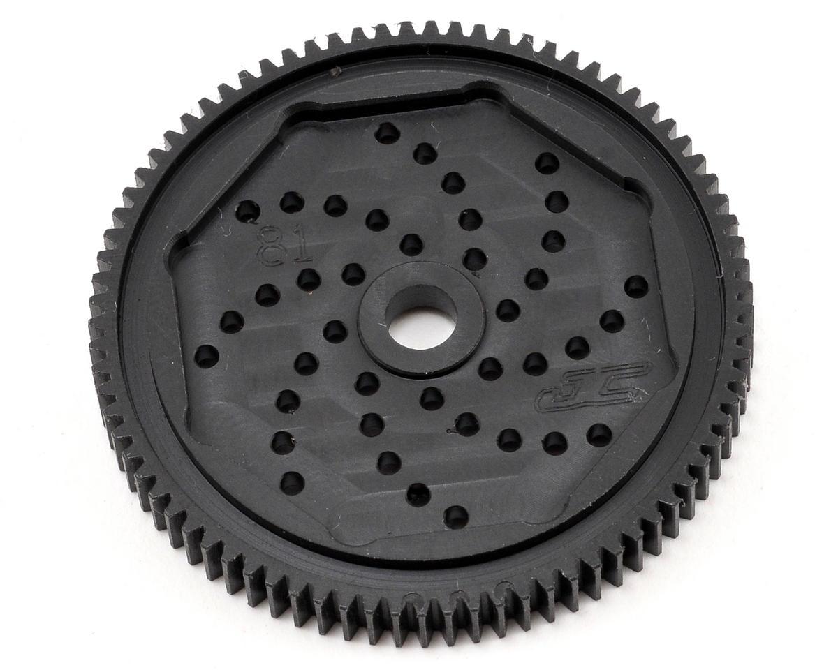 """JConcepts 48P Associated """"Silent Speed"""" Machined Spur Gear (81)"""