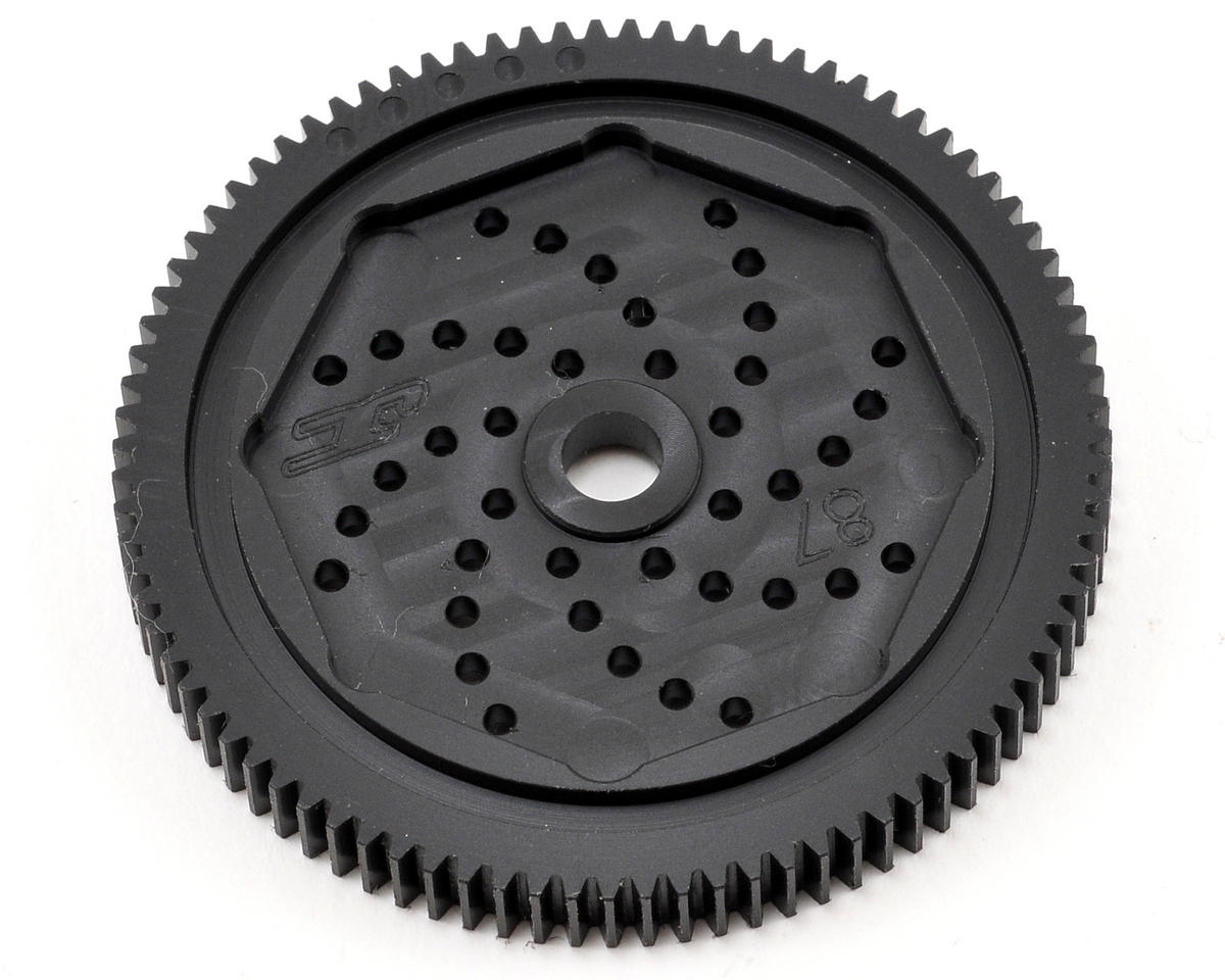 "JConcepts 48P Associated ""Silent Speed"" Machined Spur Gear (87T)"