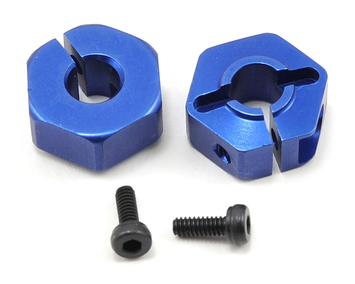 JConcepts Aluminum 12mm Front Clamping Hex Wheel Adapter Set (2)