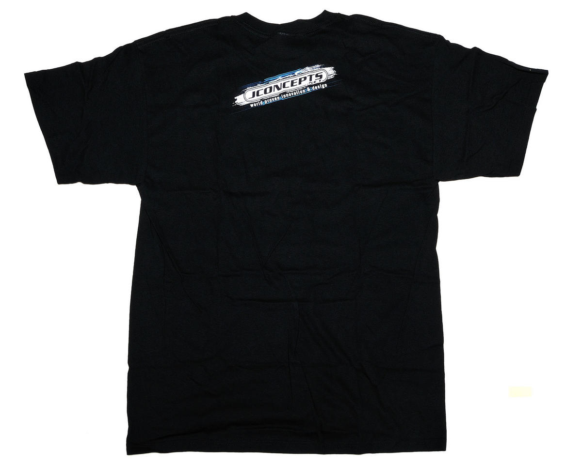JConcepts Black Striker T-Shirt (Large)