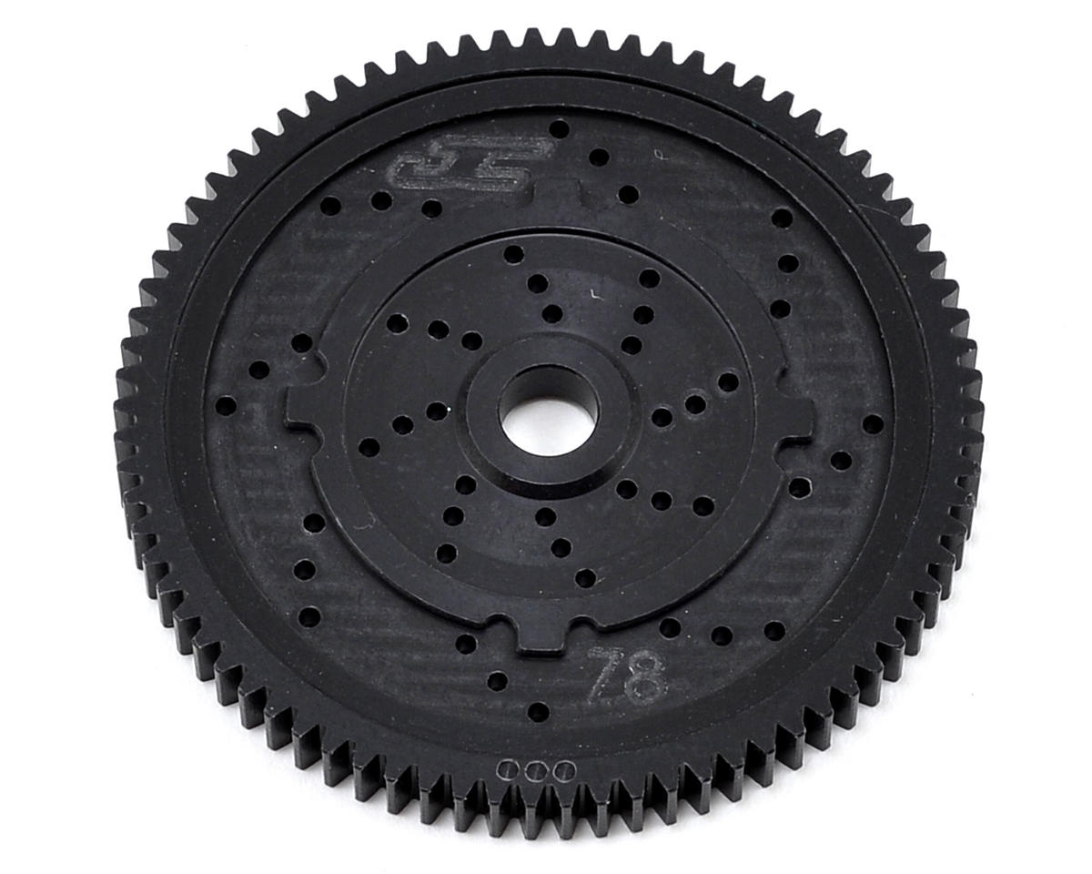 "48P TLR ""Silent Speed"" Machined Spur Gear (78T) by JConcepts"