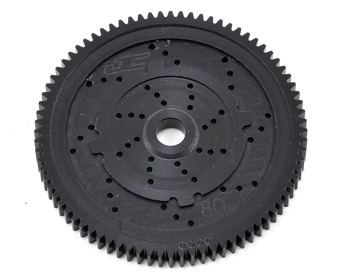"JConcepts 48P TLR ""Silent Speed"" Machined Spur Gear (80T)"