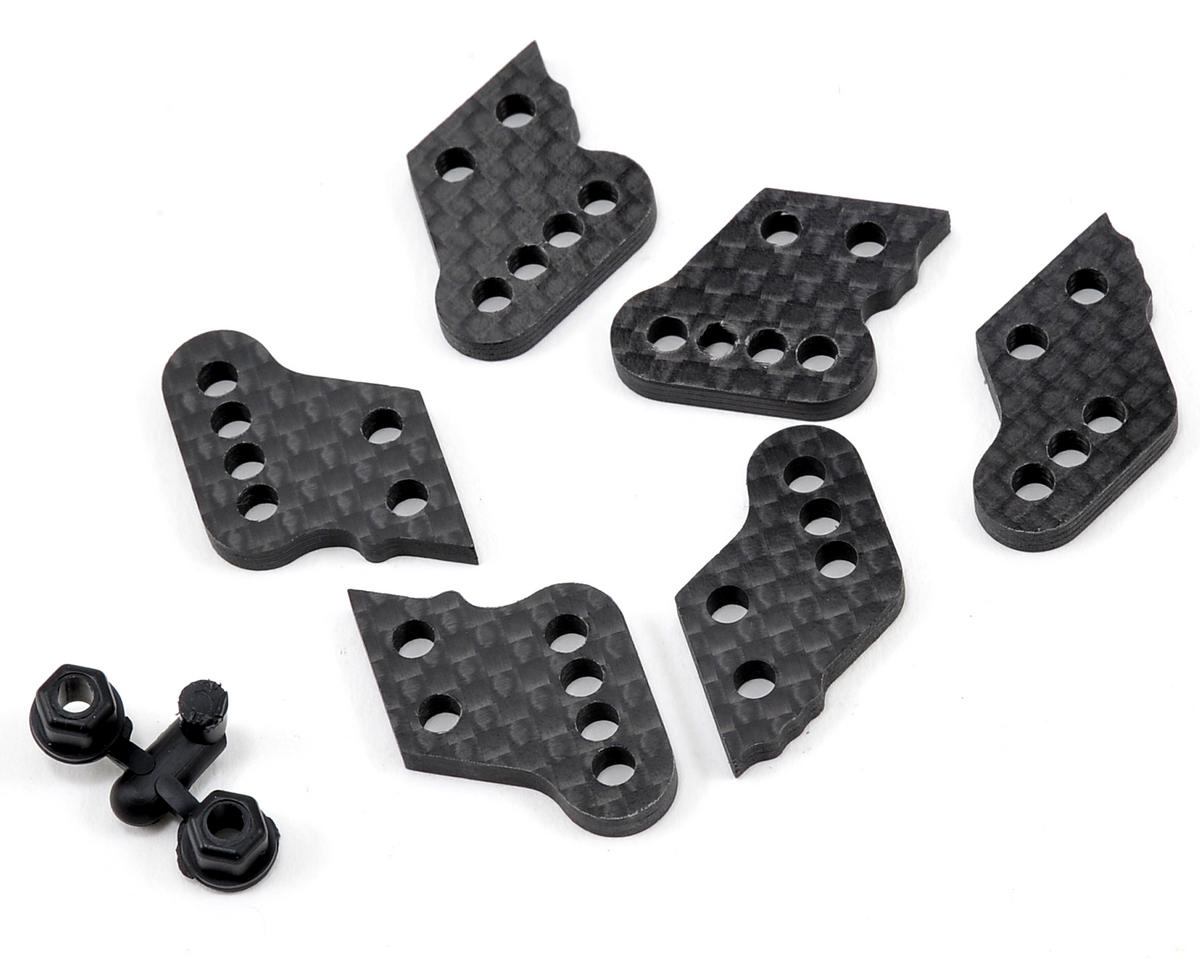 JConcepts Associated Carbon Fiber Hub Tower Set (A, B & C)