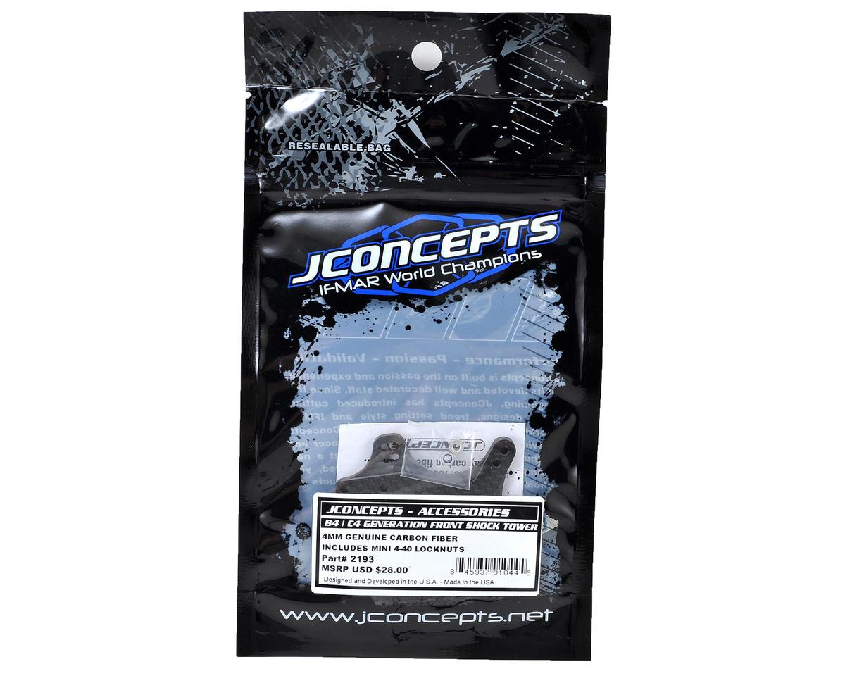 JConcepts B4.2 4mm Carbon Fiber Front Shock Tower