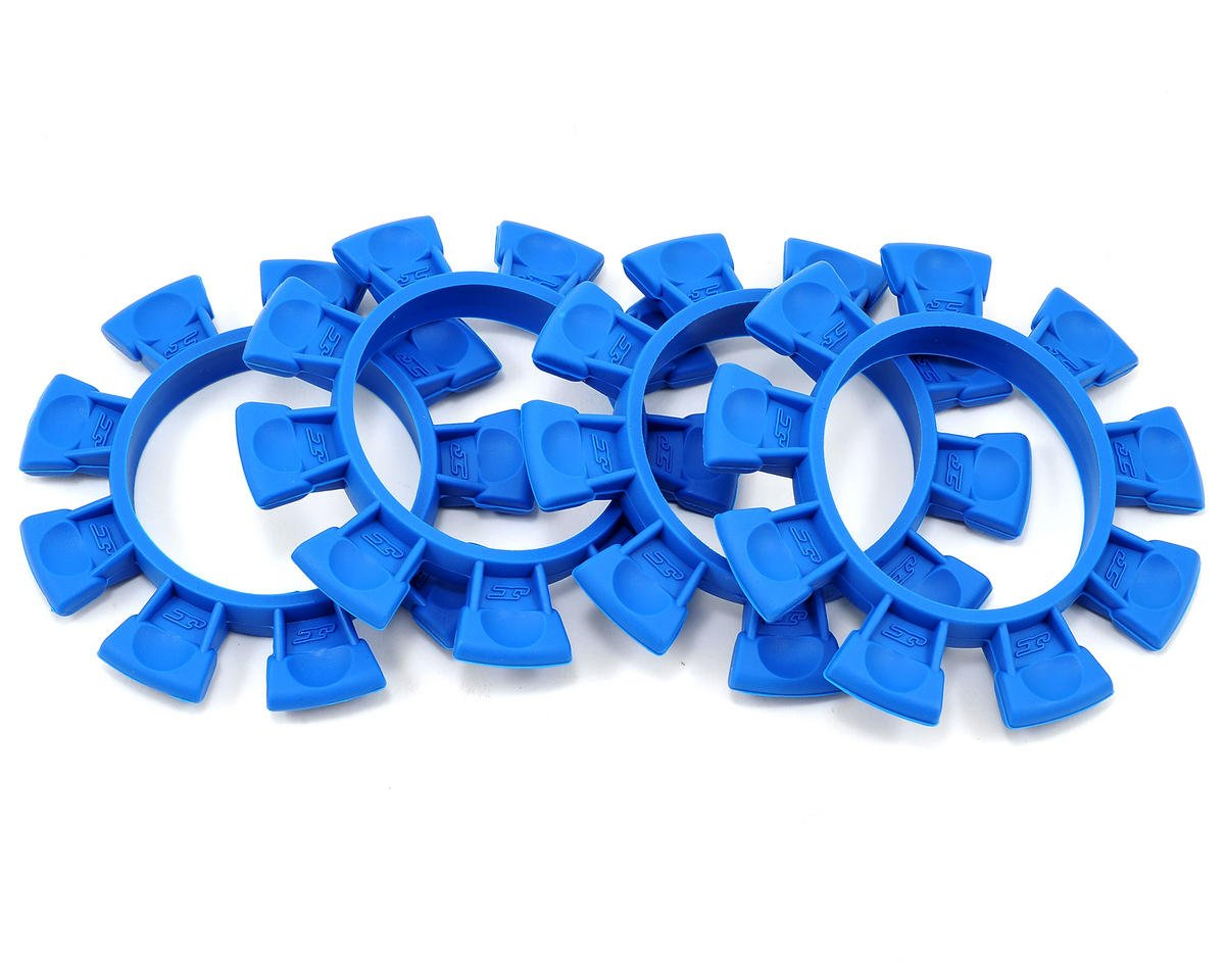"JConcepts ""Satellite"" Tire Glue Bands (Blue)"