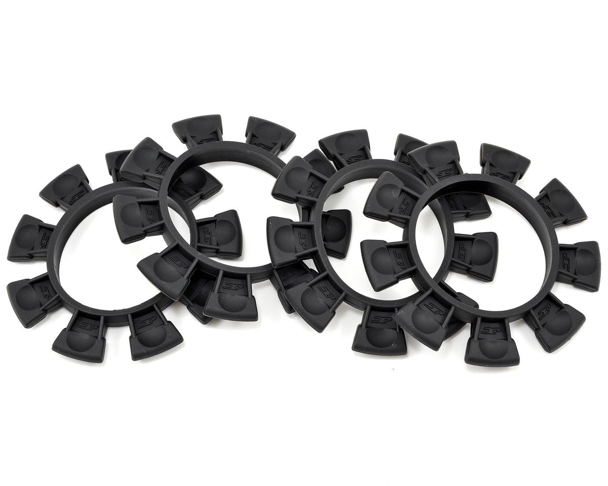 """Satellite"" Tire Glue Bands (Black) by JConcepts"