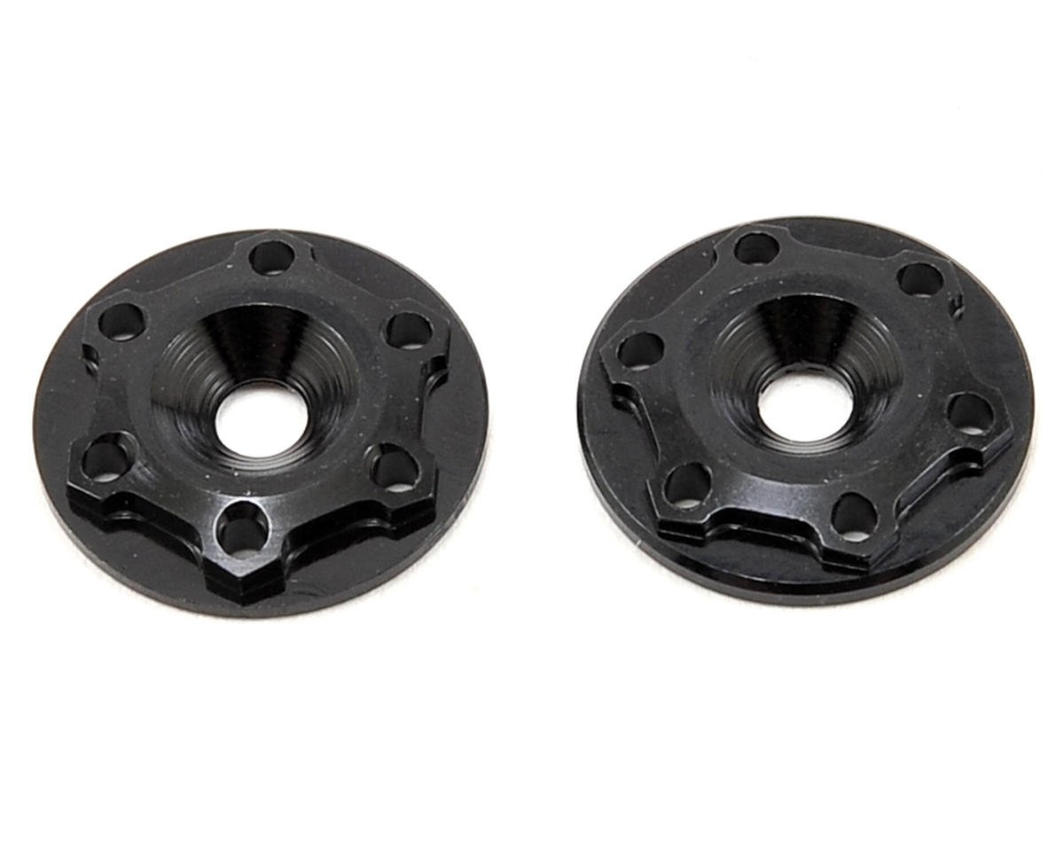 "JConcepts ""Finnisher"" 1/8 Buggy Wing Button (Black) (JQ Products THE Car (RTR))"