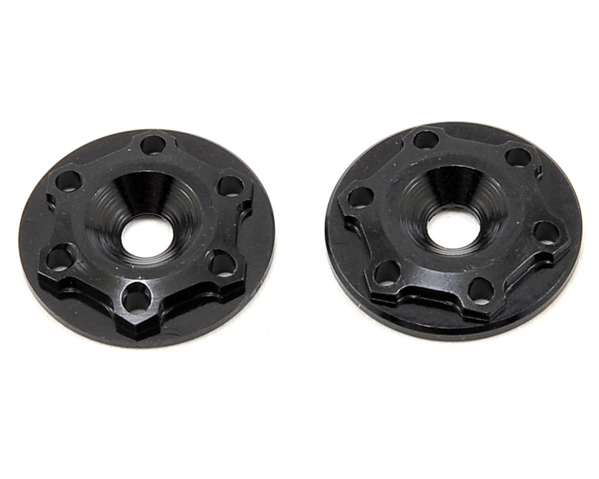 "JConcepts Aluminum ""Finnisher"" Wing Button (Black) (2)"