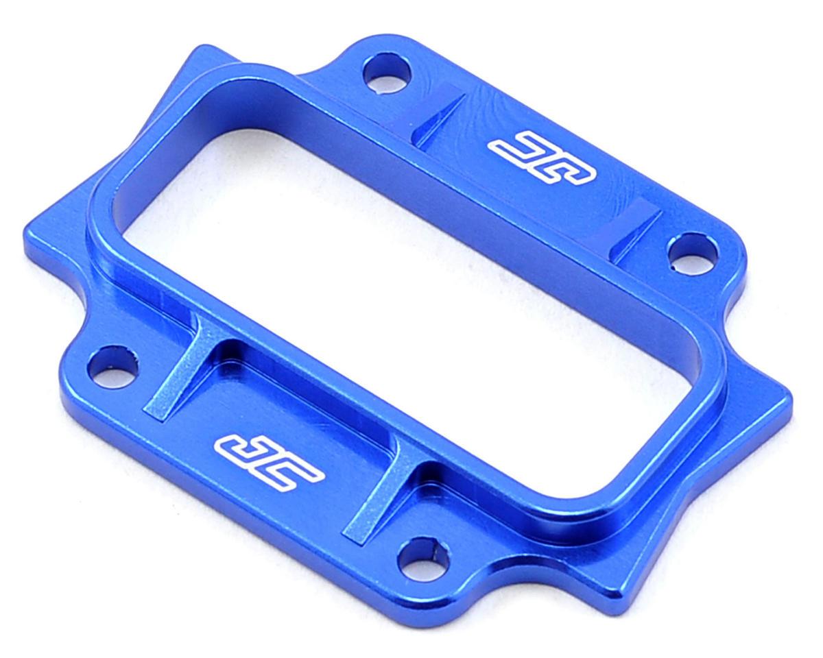 JConcepts B44.2 Aluminum Bulkhead Cap (Blue)